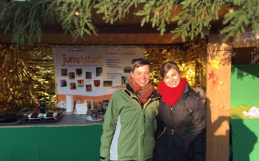Erfolgreicher Waffelverkauf am Weihnachtsmarkt in Krailling